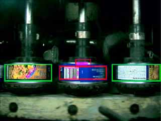 can label wraparound inspection 360 degrees works with Krones equipment