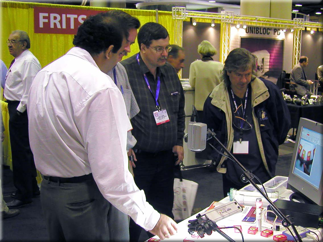 Sightech Booth at PackExpo/FPMA 2004