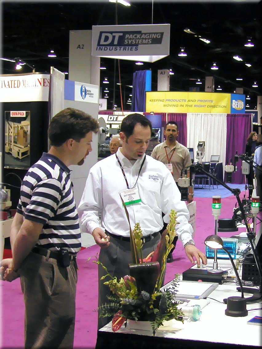 Sightech Booth at Westpack 2004